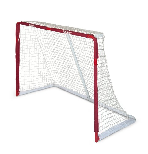 Mylec Pro Style Steel Hockey Goal, (Pro Hockey Net)