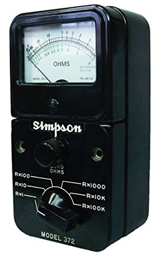 Simpson 372-3 / 12311 Megohmmeters / IR Testers by Simpson