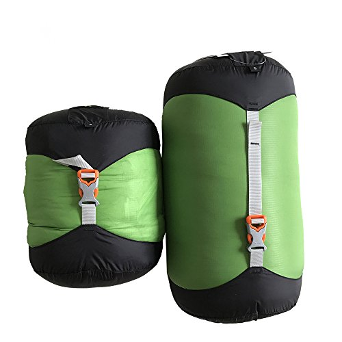Compression Stuff Sack Waterproof Sleeping Bag Compression Stuff Sack Pack Storage Bag 5 Size