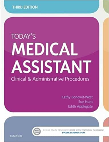 Todays medical assistant clinical administrative procedures 3e todays medical assistant clinical administrative procedures 3e 3rd edition fandeluxe Gallery