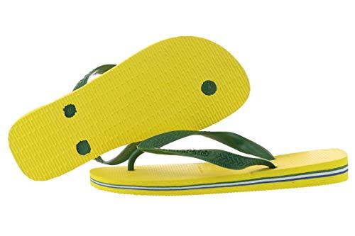Havaianas Women's Brazil Flip Flop Sandal,Citrus Yellow,35/36 BR (6 M ()