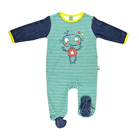 7826ba1b11533 Pyjama bébé velours Illico - Taille - 3 mois (62 cm)  Amazon.fr ...