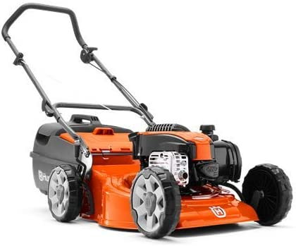 Husqvarna Lawn Mowers LC 18 Petrol Lawn Mover LC18 4 with Robust Design and Two-in-one Cutting System