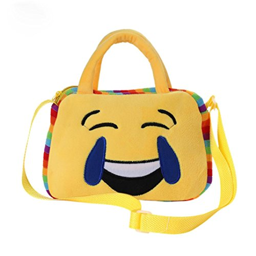 Emoji A Cute Bag School Handbag Kolylong girl Shoulder Little J Emoticon qzWt4agU