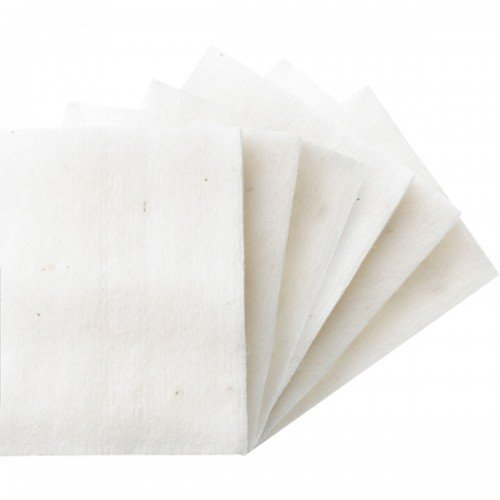 Japanese Organic Unbleached Cotton - 30 Large Pads (Best Vaping Mods For Beginners)