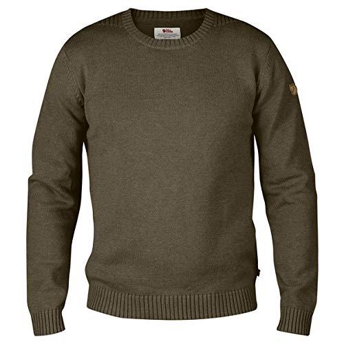 Fjallraven Men's Ovik Flat Knitted Crew Neck Sweater