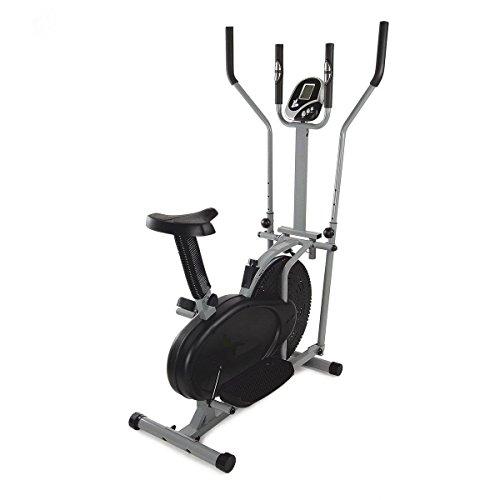 🥇 Bicicleta estática y elíptica Cross Trainer