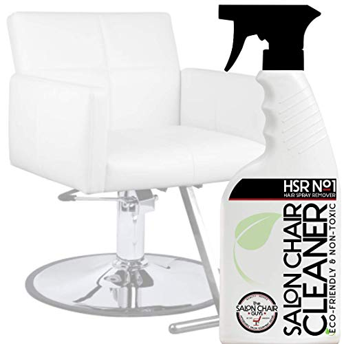 Salon Hair Styling Beauty & Barber Chair Cleaner - Stain & Hairspray Build Up Remover (16 oz)