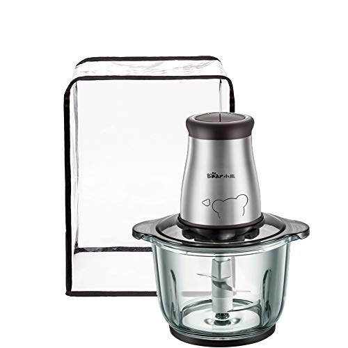 Food Processor Appliance Cover, Transparent Electric Meat Grinder Sausage Maker Meat Machine Dustproof And Waterproof…