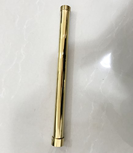 Rozin Gold Color 12-inch Shower Faucet Extension Tube Bar for Items From Rozinsanitray