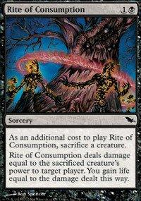 Magic: the Gathering - Rite of Consumption - Shadowmoor