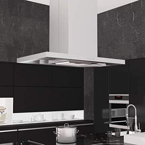 Zora Walter Campana extractora de Techo 90 cm Acero Inoxidable 756 m³/h LED Cocina y Comedor Electrodomésticos de Cocina: Amazon.es: Hogar