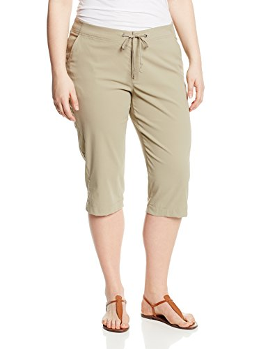 Columbia Women's Anytime Outdoor Plus Size Capri, Tusk, 16Wx18 from Columbia