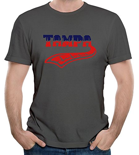 KaLiSSer Custom Tampa Pulse Tattoo T Shirts For Men Design Your Own Personalized Tee Shirt