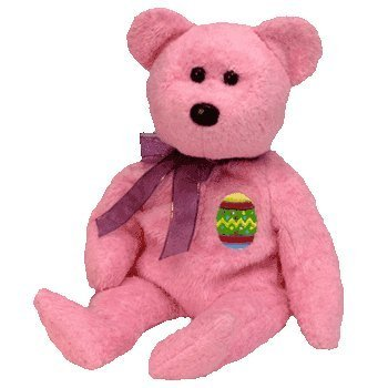 4811d6b9bb2 Image Unavailable. Image not available for. Color  TY Eggs the Easter Bear  Beanie Baby by Beanie Babies
