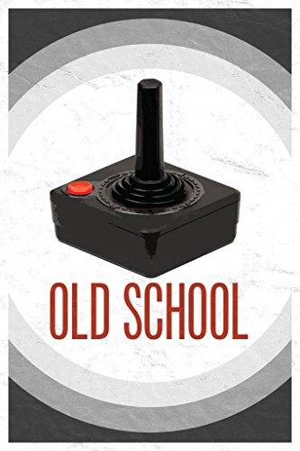 Old School Throwback Retro Video Game Controller II Poster 2