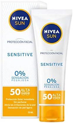Nivea Sun Sensitive Protección Facial FP50, 50ml