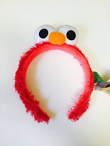 Sesame Street Elmo Headband Head Band Kid & Adult One Size Halloween Costume Accessory]()