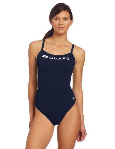 스피도 Speedo Womens Guard Flyback Swimsuit