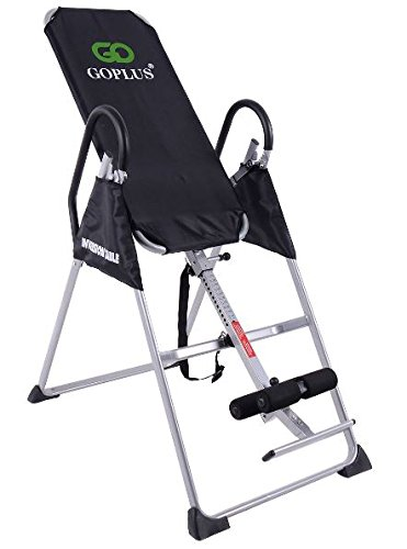 K&A Company Foldable Premium Gravity Inversion Table Back Fitness Therapy Reflexology Pu Gym New Exercise by K&A Company