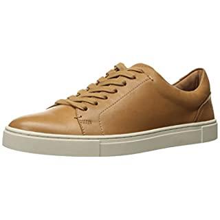 Frye Women's Ivy Low LACE Fashion Sneaker, Tan, 9.5 M US