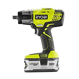 Ryobi ONE+ 18V Impact Wrench Kit P1890 w/ 4Ah Battery & Charger