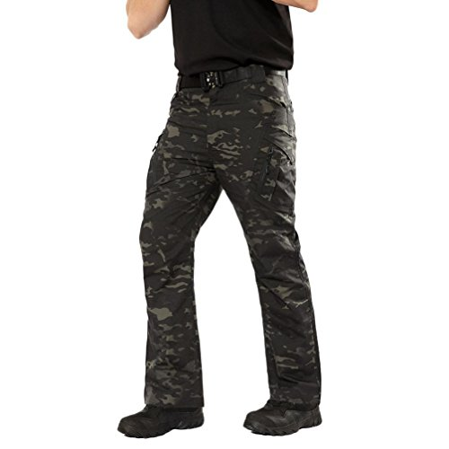 PASATO New!Men's Casual Tactical Military Army Combat Outdoors Work Trousers Cargo Pants(Camouflage, S) by PASATO (Image #3)