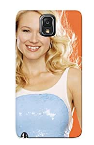 Exultantor Perfect Tpu Case For Galaxy Note 3/ Anti-scratch Protector Case (hollywood Beauty Jewel Kilcher With Orange)