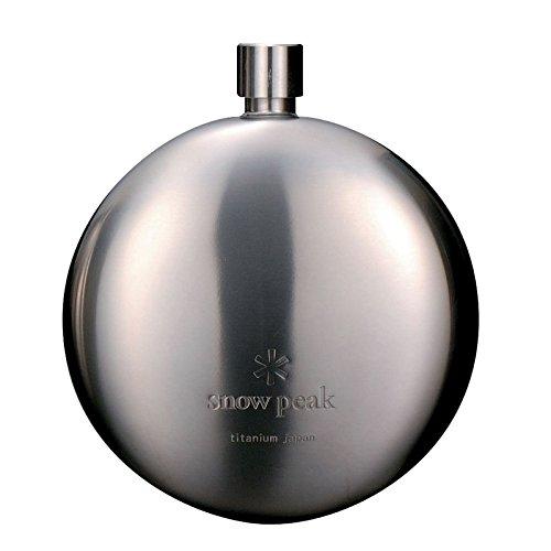 Snow Peak Titanium Round Flask