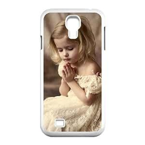 Samsung Galaxy S4 Case, Little Girl Formal Dress Case for Galaxy S4 White Leemarson sf4112556
