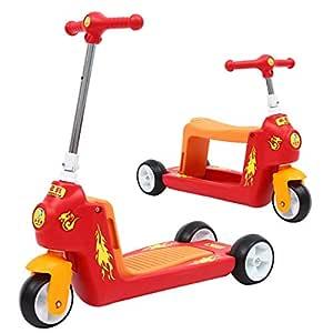 Fenfen-cz Scooter Infantil, tobogán for bebé, Tres Ruedas ...
