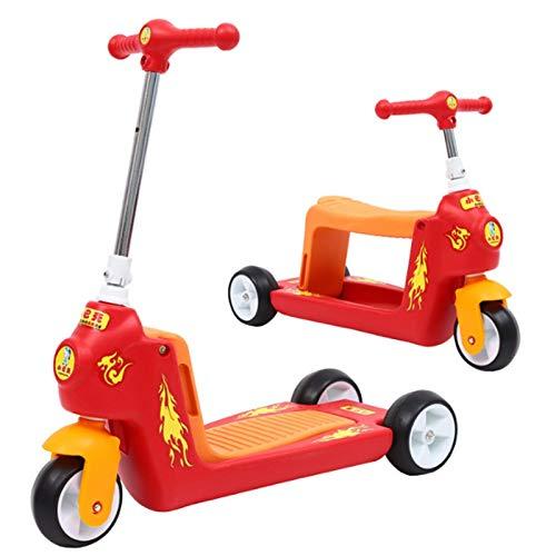 Fenfen-cz Scooter Infantil, tobogán for bebé, Tres Ruedas, Scooter ...