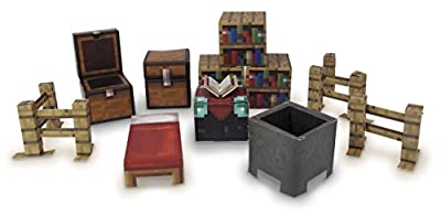 Minecraft Papercraft Utility Pack Over 30 Pieces New