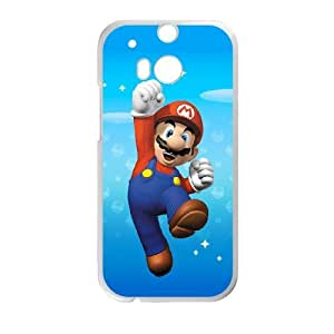 Super Mario Bro theme pattern design For HTC ONE M8 Phone Case
