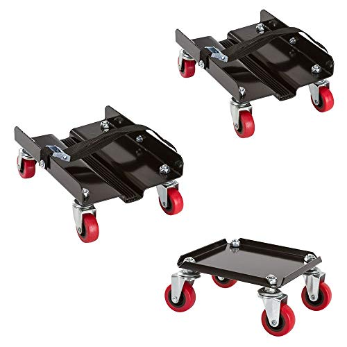 Black Ice SNO-1503 Snowmobile Dolly Set