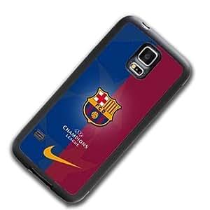 FC Barcelona FC Logo Samsung Galaxy S5 Mini Funda Case Scratch Resistant Antigolpes Drop Resistant Protective Case