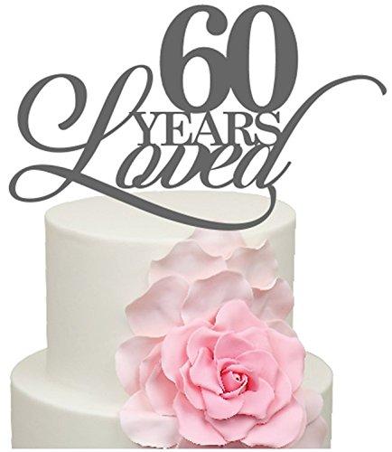 60 Años Loved 60th Aniversario De Bodas De Diamante