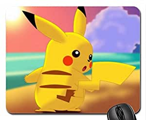 Pikachu Mouse Pad, Mousepad (10.2 x 8.3 x 0.12 inches)