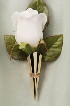 Vase Lapel Pin Corsageboutonniere Pin Gold Amazon Home
