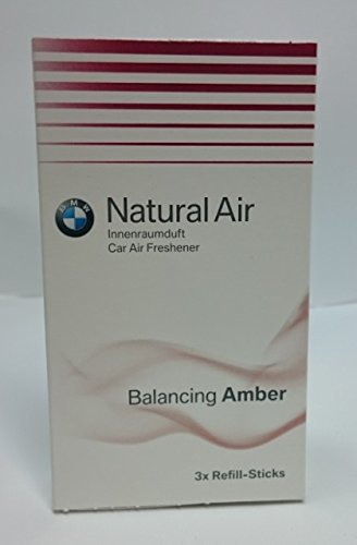 BMW Natural Air car air freshener - Refill Kit Amber