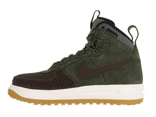 Nike Mens Lunar Force 1 Anatra Stivale Boot Barocco Marrone / Nero / Oliva Militare