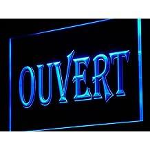ADV PRO j162-b OUVERT OPEN Shop Neon Enseigne Lumineuse