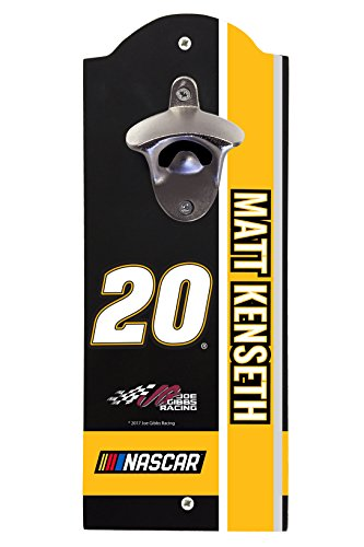 (NASCAR #20 Matt Kenseth Wall Mounted Bottle Opener-NASCAR bottle opener )