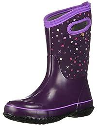 Bogs Girls' Classic Planes Waterproof Winter Boot