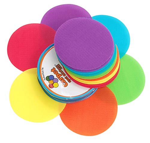 Carpet Spot Markers Classroom Sit Circles for Teachers (18 Pack -
