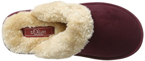 s.Oliver Women's 27100 Mules Red (Bordeaux) Jm410WgtWo