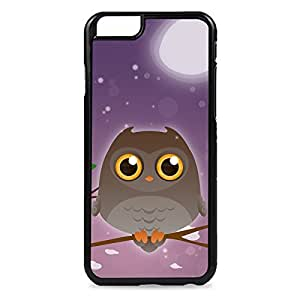 Case Fun Case Fun Brown Owl by DevilleART Snap-on Hard Back Case Cover for Apple iPhone 6 4.7 inch