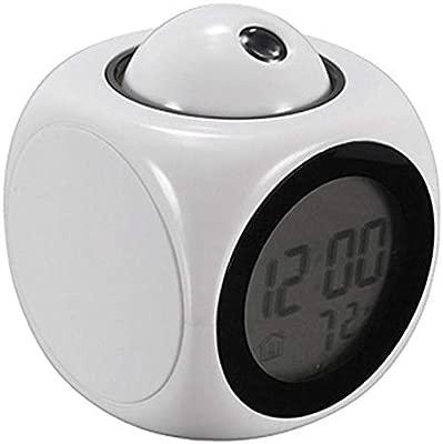 Reloj Despertador Proyector Sin Radio Novedad Tiempo Temp ...