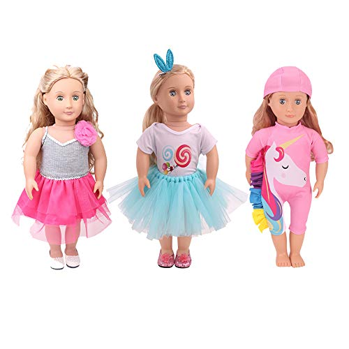 Baby Doll Costumes For Girls - NOBES Doll Clothes 18-inch Alive Lovely