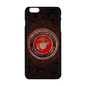 "Generic Custom Extraordinary Best Design USMC(US Marine Corps) Symbol Series Plastic Case Cover for iPhone6 Plus 5.5"" WANGJING JINDA"